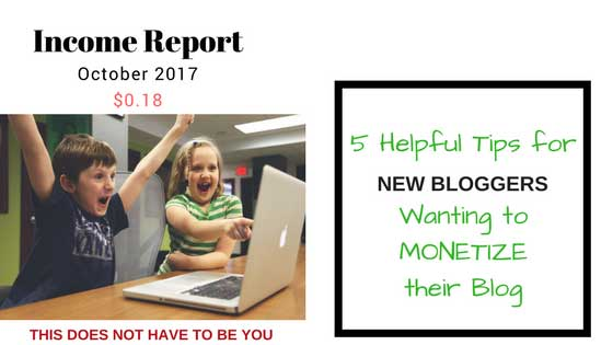 5 Helpful Tips for New Bloggers Wanting to Monetize Their Blog